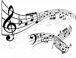music-notes-background